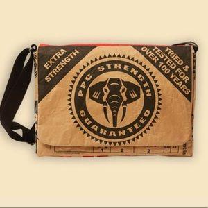 Elephant branded PPC Cement laptop bag